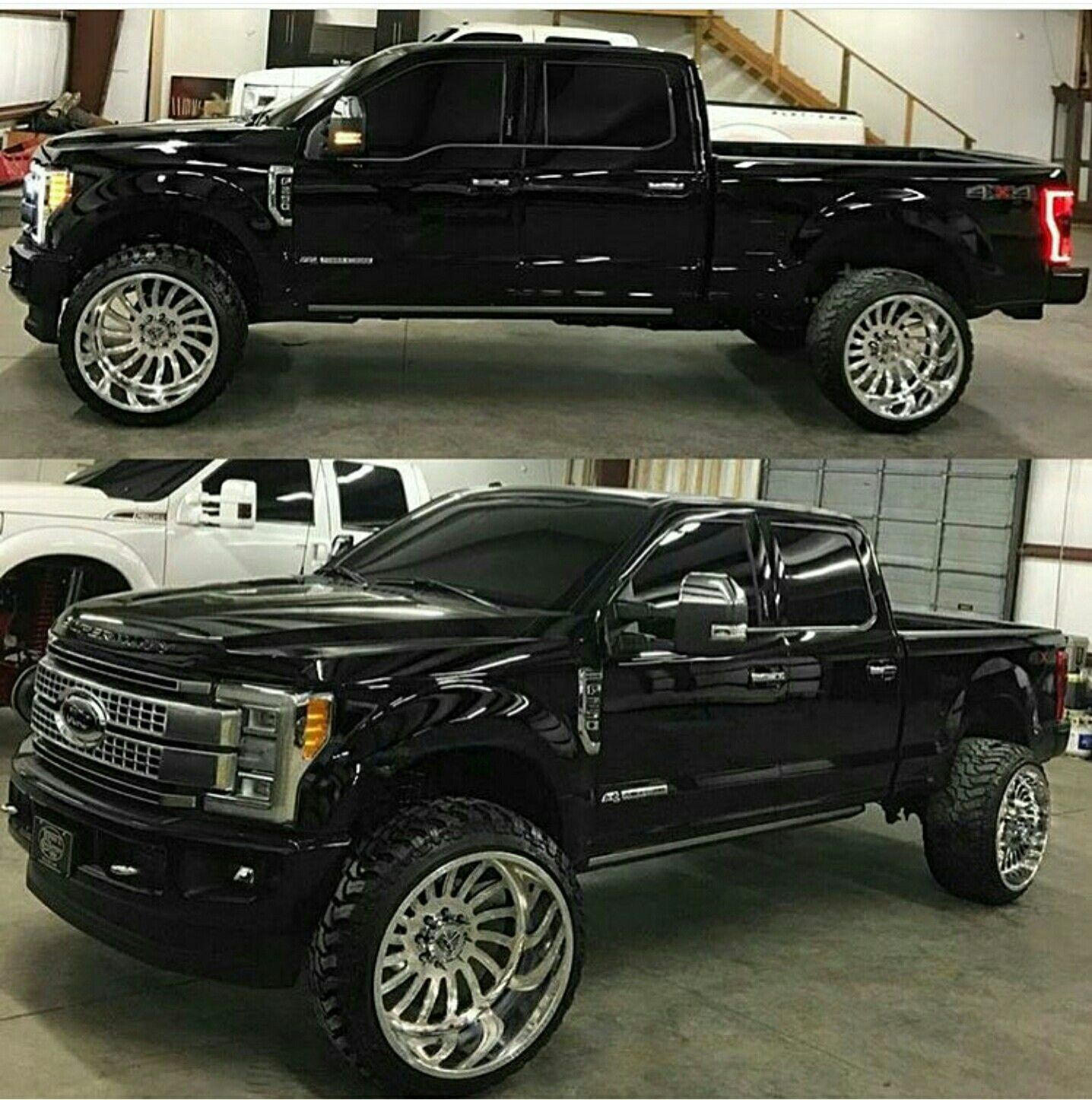 F250 26 S Black Yassss With Images Ford Trucks Lifted