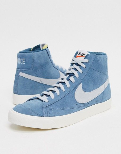 Nike Blazer Mid '77 suede trainers in
