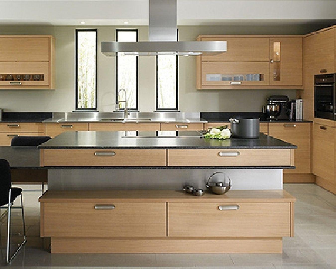 Esempio cucina moderna in legno su misura   casa   Pinterest ...