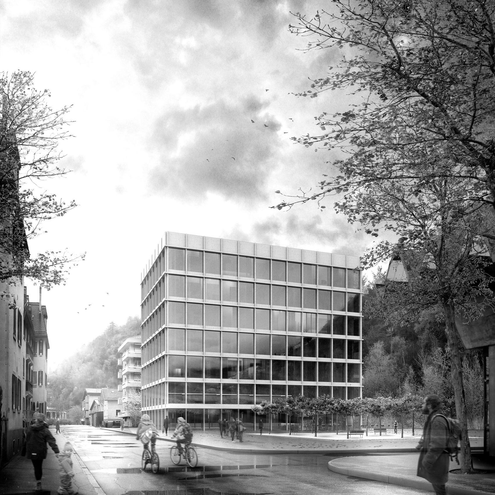 Visualisierungen Architektur fotorealistische architektur visualisierung für den neuen