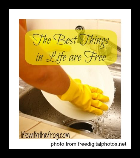 kissing the frog: Mother's Day: The Best Things in Life are Free