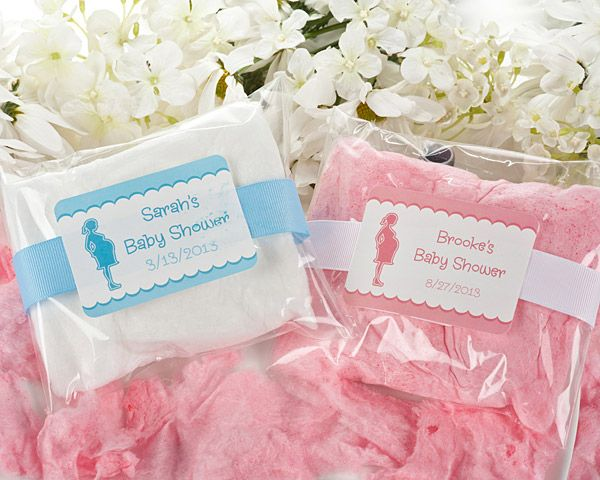 Personalised GENDER REVEAL Cute Party Love Heart Sweets Favours Boy Girl Vegan