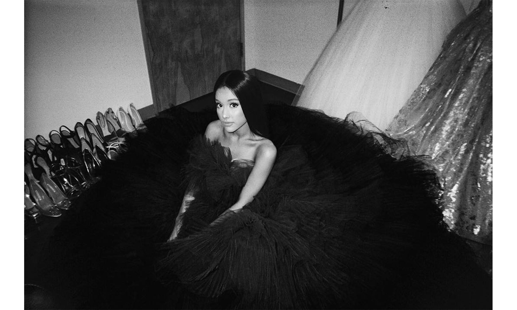 Celebrity Instagrams From Paris Couture Fashion Week Ariana