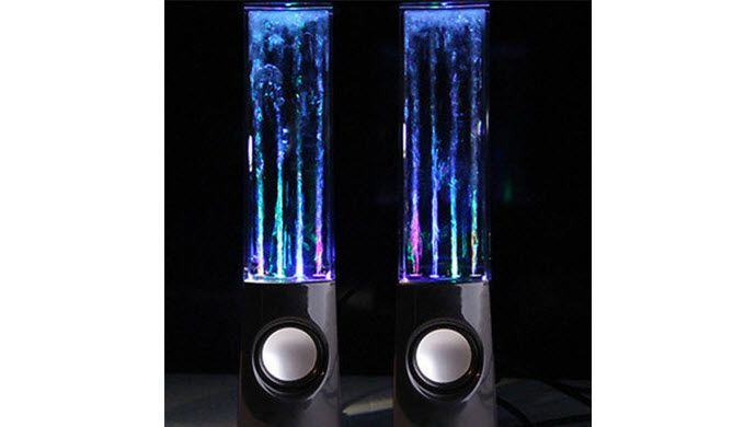 Led Dancing Water Speakers 23 Free Shipping W Promo Code 2off1sale Water Speakers Led Dance Led