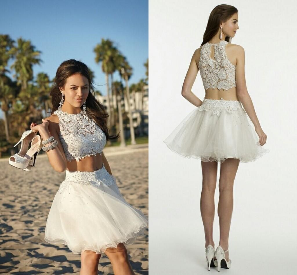 Cheap White Prom Dresses - Discount 2014 Summer Autumn White Prom ...