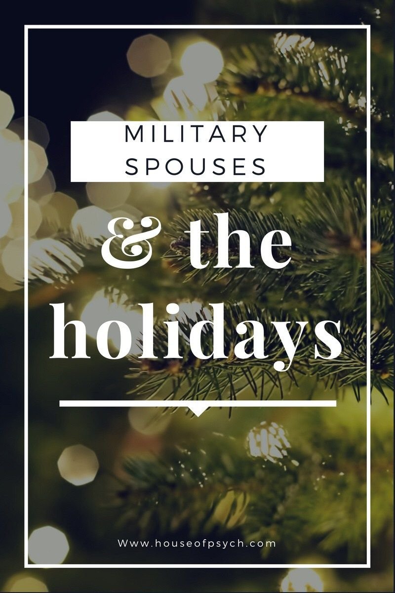 Military Spouses & Holidays can be really great, or really awful! Which one have you lived through?