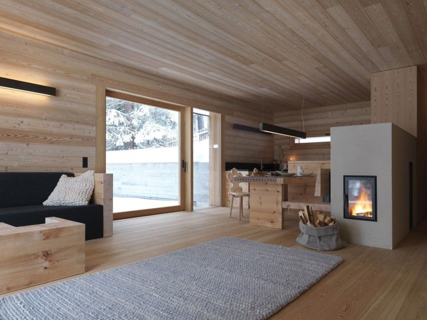 diseo de casa pequea para climas fros conocers la forma de mantener climatizado el interior
