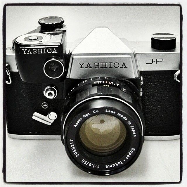 Used Photography Studio Lighting Equipment: #vintage #photography #throwbackthursday Yashica J-P Made