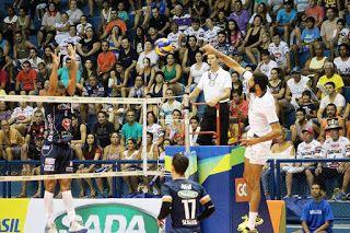 Blog Esportivo do Suíço: Cruzeiro bate Taubaté e dispara na liderança da Superliga Masculina