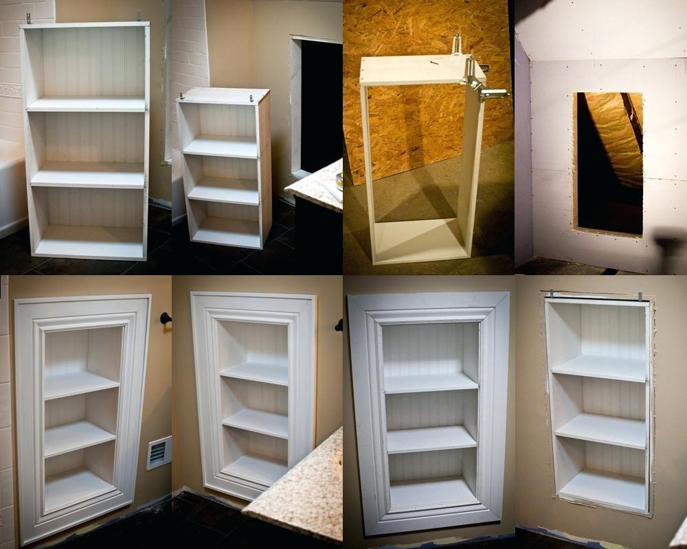 Built In Wall Shelves Bathroom Storage Shelvesbuilt Shoe Rack Knee