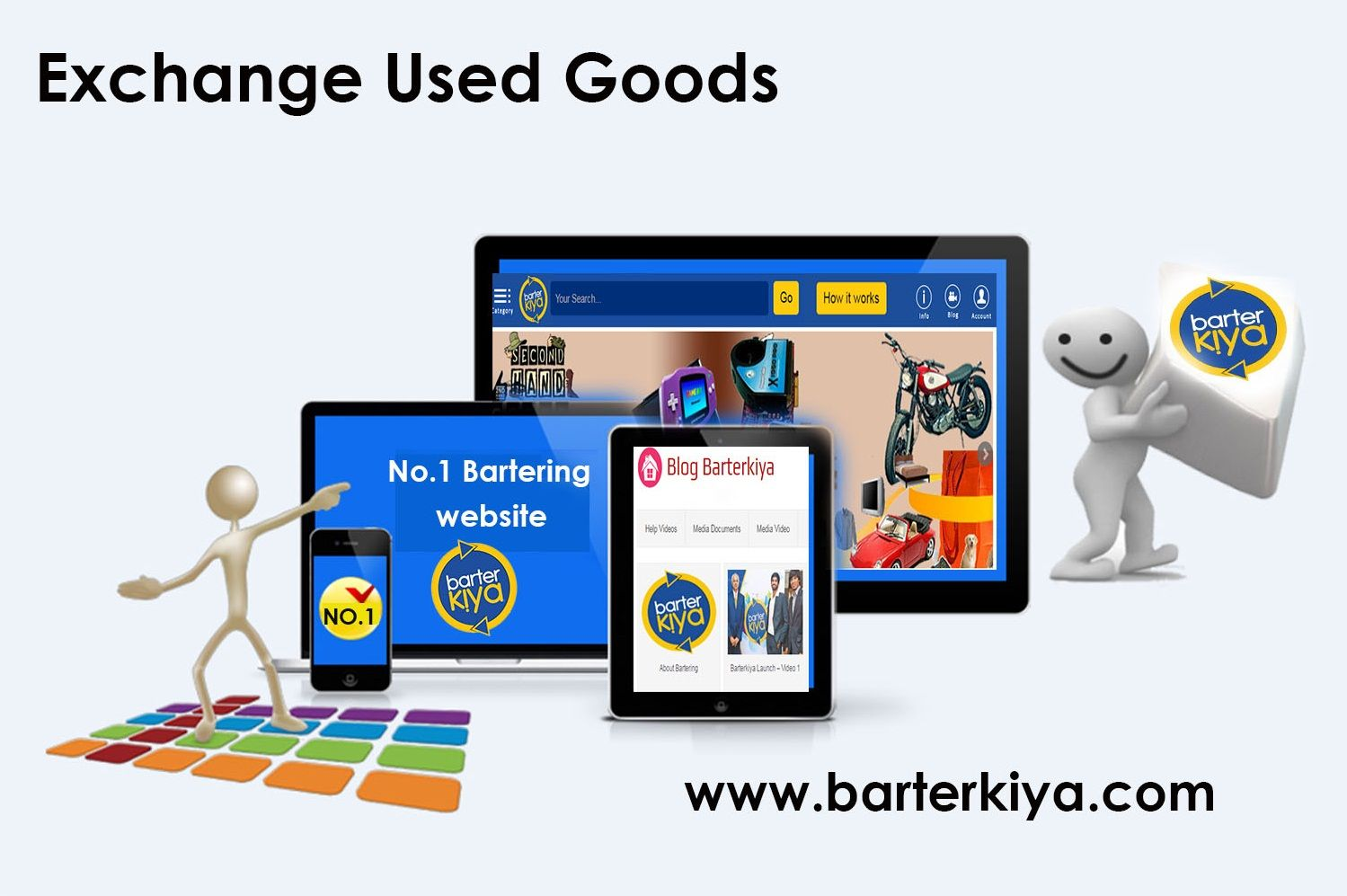 Barterkiya is the best platform to exchange your used goods. India's No.1 Bartering website Free Sign up @ www.barterkiya.com.