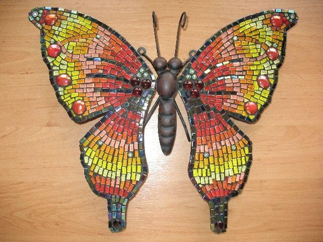 Pin Op Bloem Vlinder