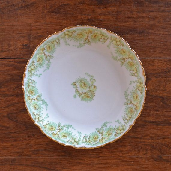Vintage Limoges Elite Works Green And Gold by MichelleGrant920