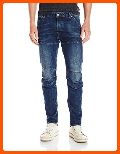 0c2b7efce31 G-Star Raw Men's 5620 3D Slim-Fit Jean, Vintage Dark Aged, 40x34 - Mens  world (*Amazon Partner-Link)