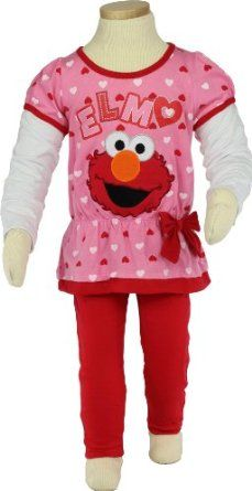 Sesame Street Elmo Infant Girls