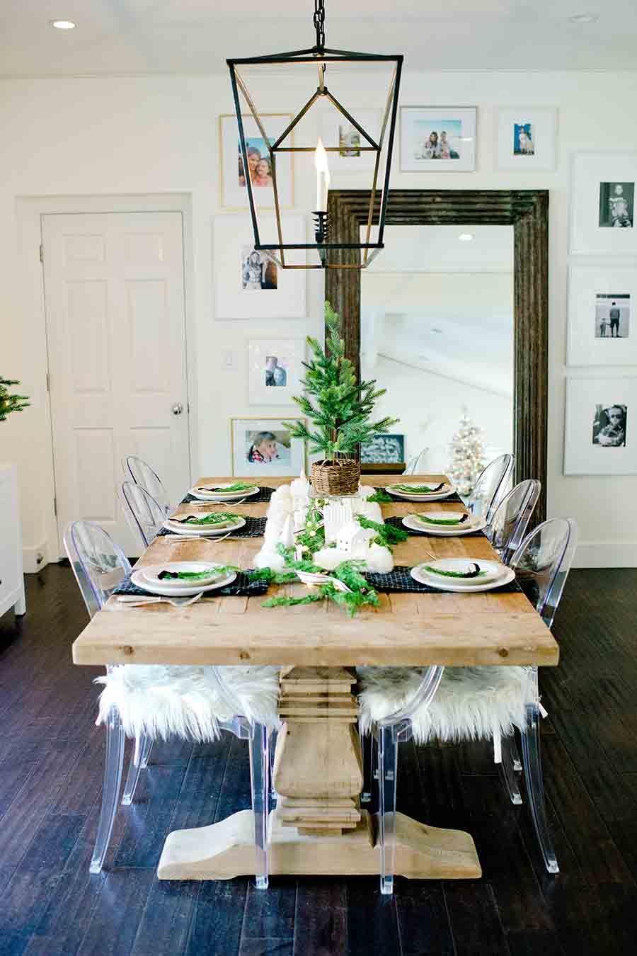 Modern Farmhouse Christmas Table Tips For Creating A Holiday Table Christmas Table Modern Farmhouse Table Decor