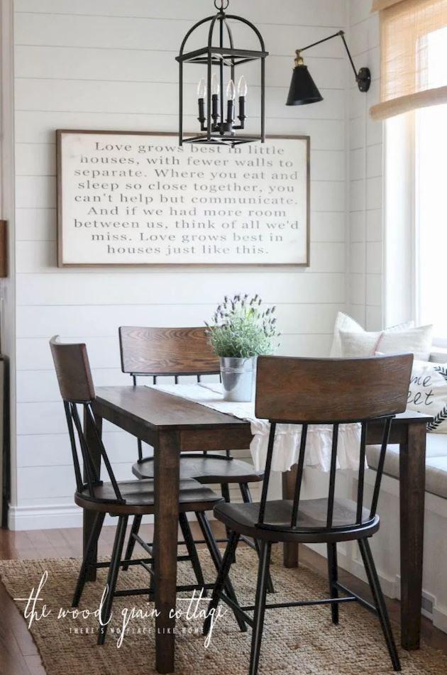 30 Small Dining Room Ideas Doozy List Dining Room Small Small Dining Room Decor Farmhouse Dining