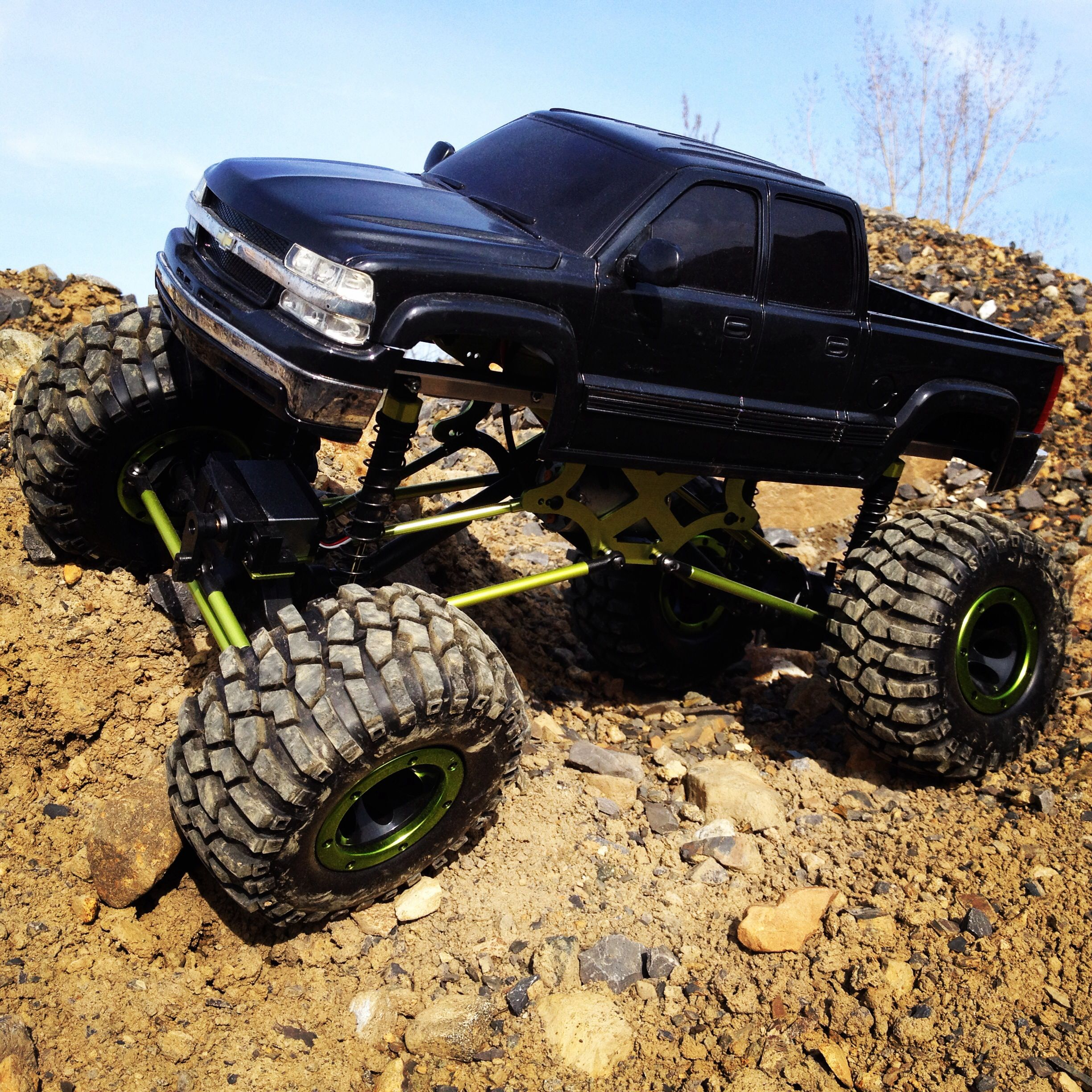 Best Rc Truck 4x4 : Drekas rc crawlers scale trucks chevy z mud bogger