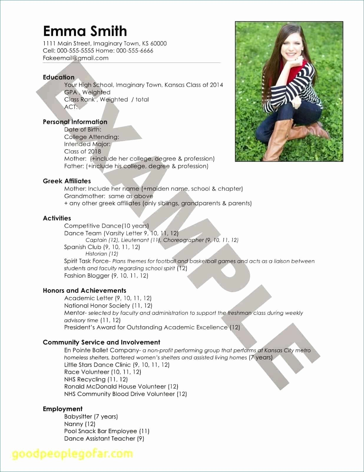 Community Service Certificate Template Free Lovely Martial Arts Gift Certificate Template Paramythia Docs Sorority Resume College Sorority Recruitment Resume