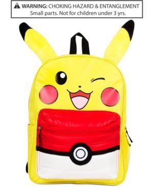 Pokemon Pikachu Backpack, Little Boys (2 7) & Little Girls