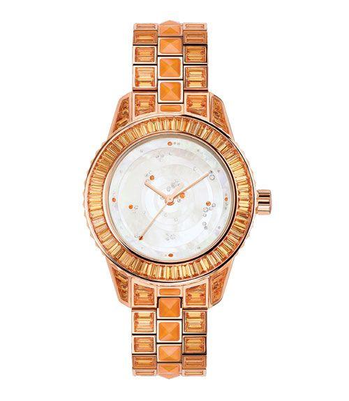 Watch price upon request, Dior Timepieces; (212) 931-2950.   Ben Goldstein/Studio D  - MarieClaire.com