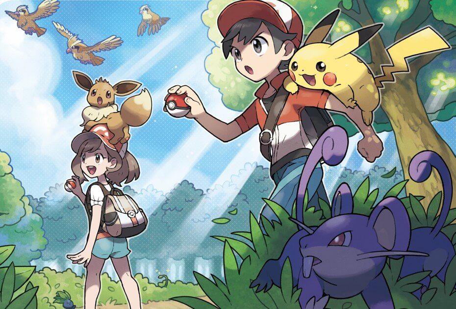 Pokémon Let S Go Pikachu Y Pokémon Let S Go Eevee Explora El Mundo Pokémon Pokemon Personajes Pokemon Bonitos Eevee Pokemon