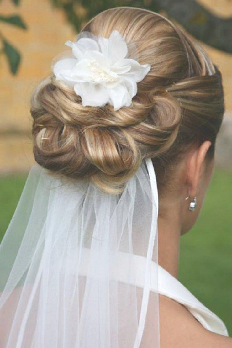 wedding updos with veil underneath | cute dresses | pinterest