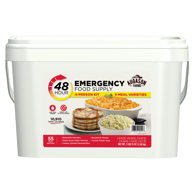 Augason farms 48hour 4person emergency food supply