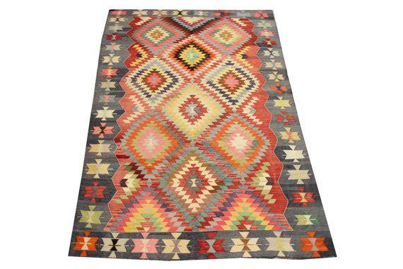 Oriental Turkish Kilim rug 8,5 x 4,9 Feet Ethnic rug kilim Decorative rugs carpet  Large size rugs Kilim Vintage kilim rug Area rugs Y-523