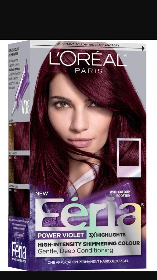Feria Deep Intense Violet Violet Hair Colors Feria Hair