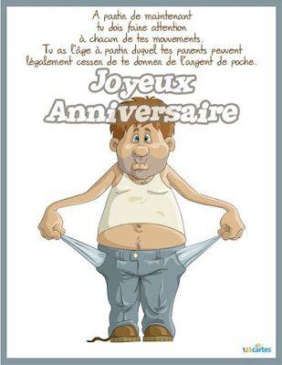 Anniversaire 18 Ans Humour Joyeux Anniversaire Pinterest Humor