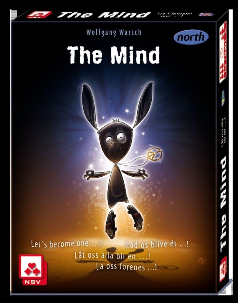 The Mind Nordic Spil Bog Ide Card Games Cards Board Games