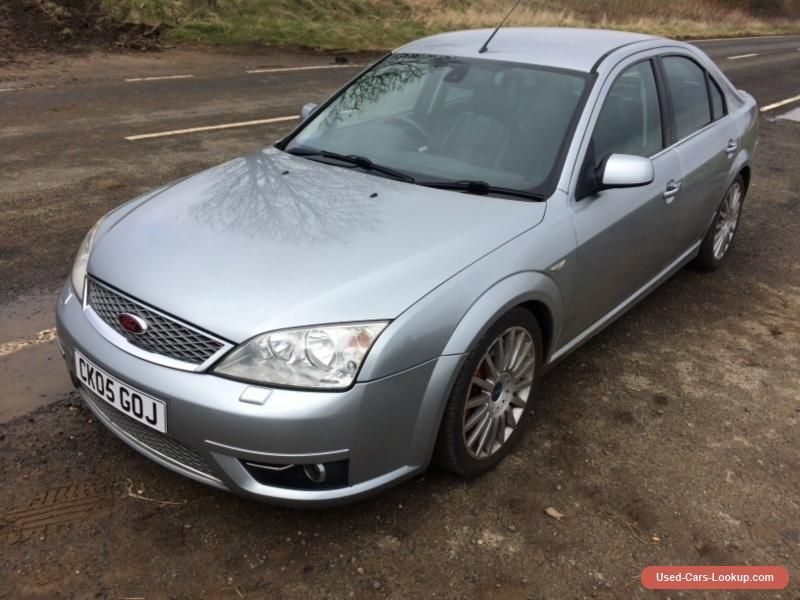 Car For Sale Mk3 Mondeo 2 2 Tdci Titanium X St 186bhp Machine Silver