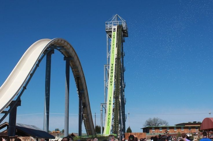 World S Tallest Waterslide Why You Don T Fall Off Water Slides Waterslides Water Park
