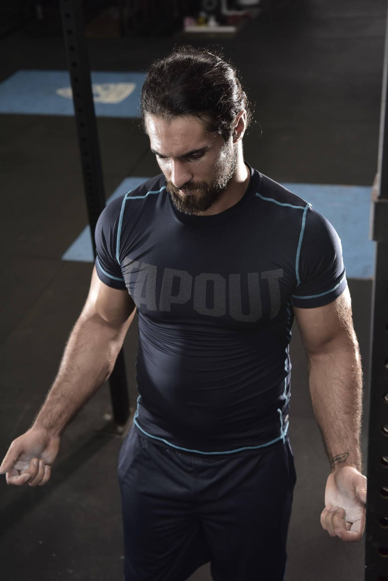 HQ Tapout Facebook Photo Seth Rollins putting in another