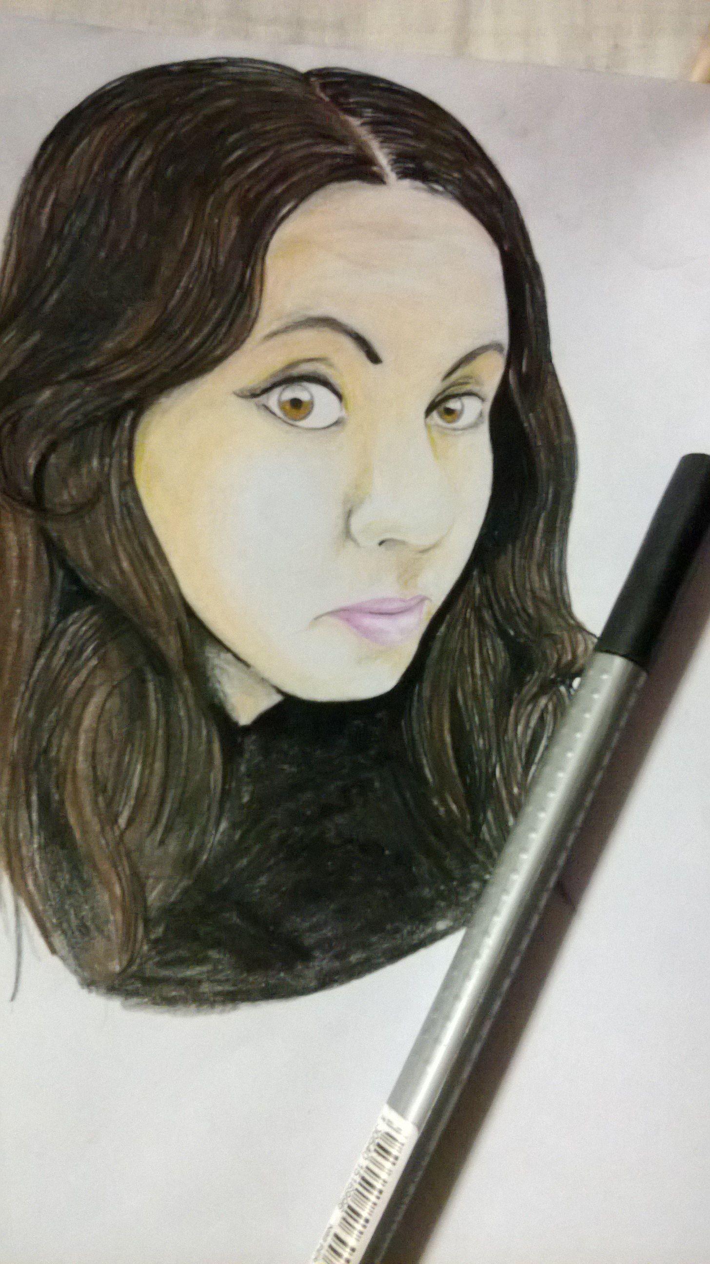 Dibujo propio :D