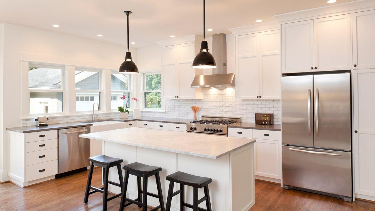 Kitchen lighting - Mitre 10 | Kitchen Ideas | Pinterest | Kitchens ...