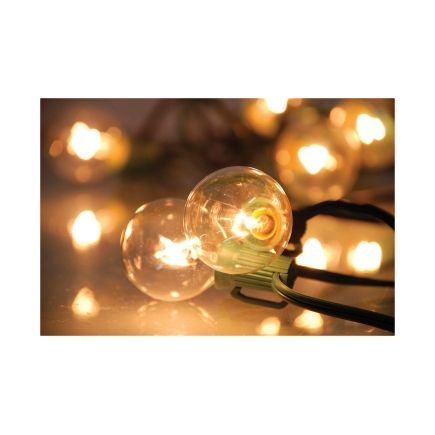 sienna 20ft clear globe light set 642gr112 decorative lights ace hardware