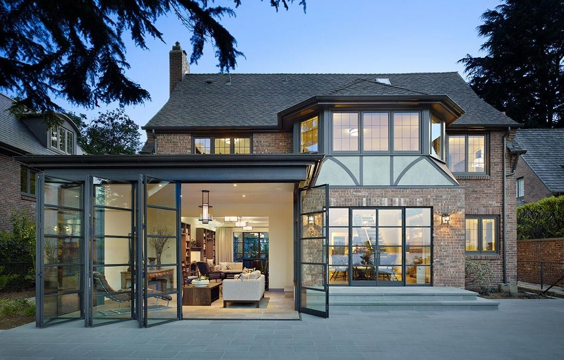 Deluxe Custom Tudor House Modern Renovation That Can Fit In Any Home Tons Of Variety Decoratorist In 2020 Tudor House Tudor Style Homes Seattle Homes