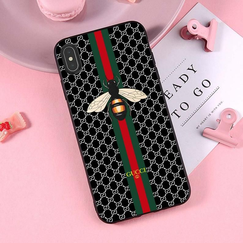 Gucci bee iphone xs max gucci iphone xs x xr case 6s 8 7