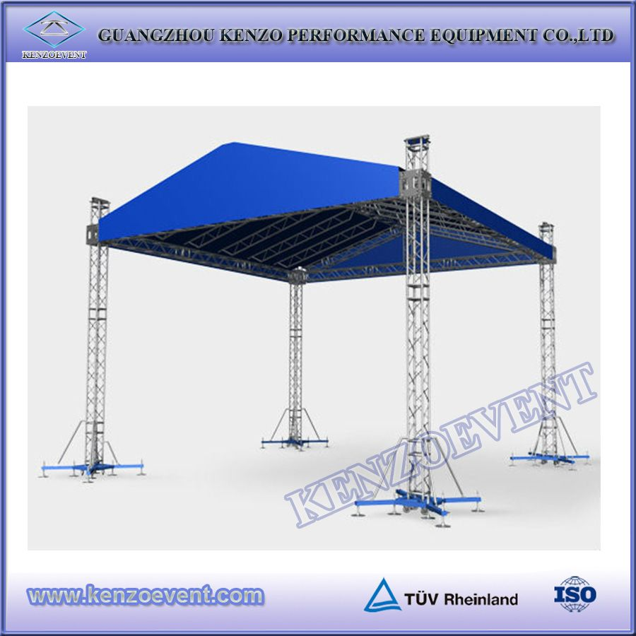 Outdoor stage roof truss show stage roof canopy roof buy for Order roof trusses online