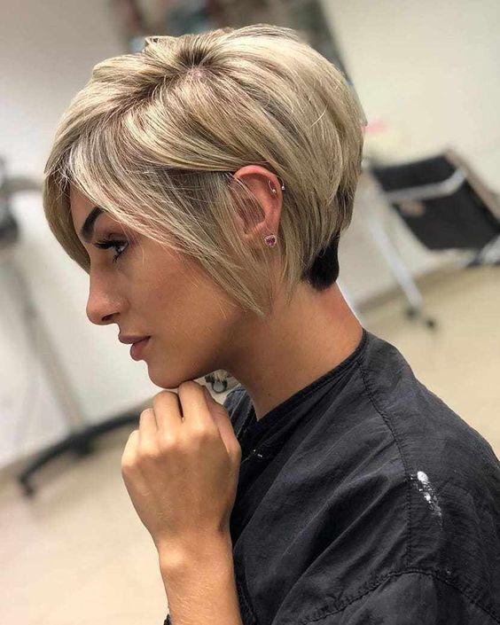 Short Edgy Hairstyles For Fine Hair In 2019 Frisuren Kurz