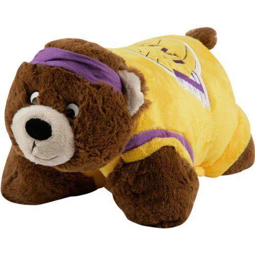 Los Angeles Lakers Nba Mini Mascot Pillow Pet Animal Pillows Lakers Store Happy Animals