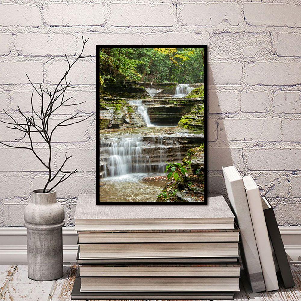 Watkins Glen Water Fall Waterfall Art New York Photography