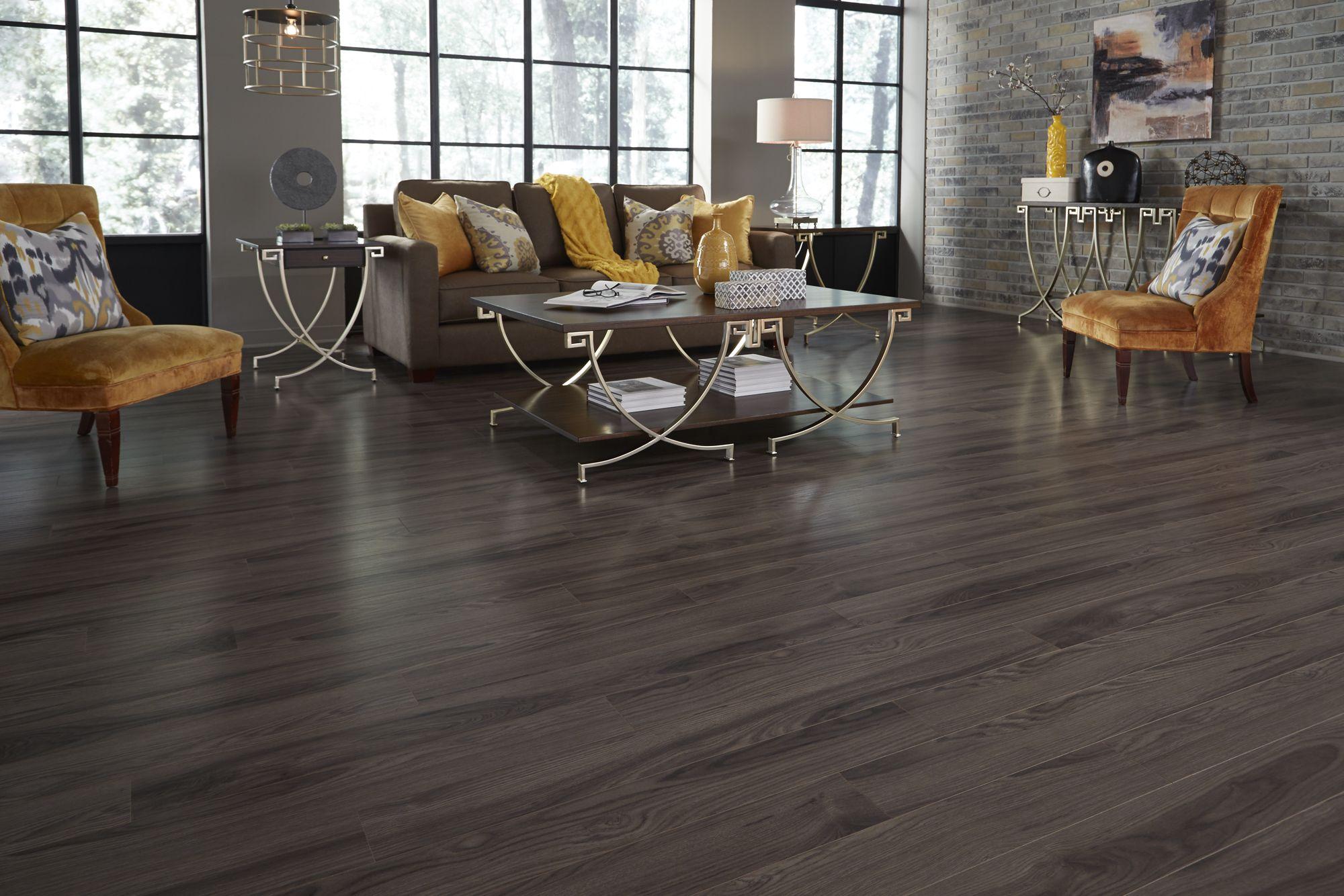 The Smoky Gray Tones And Wood Like Texture Of Sleepy Creek Mountain Oak Make This
