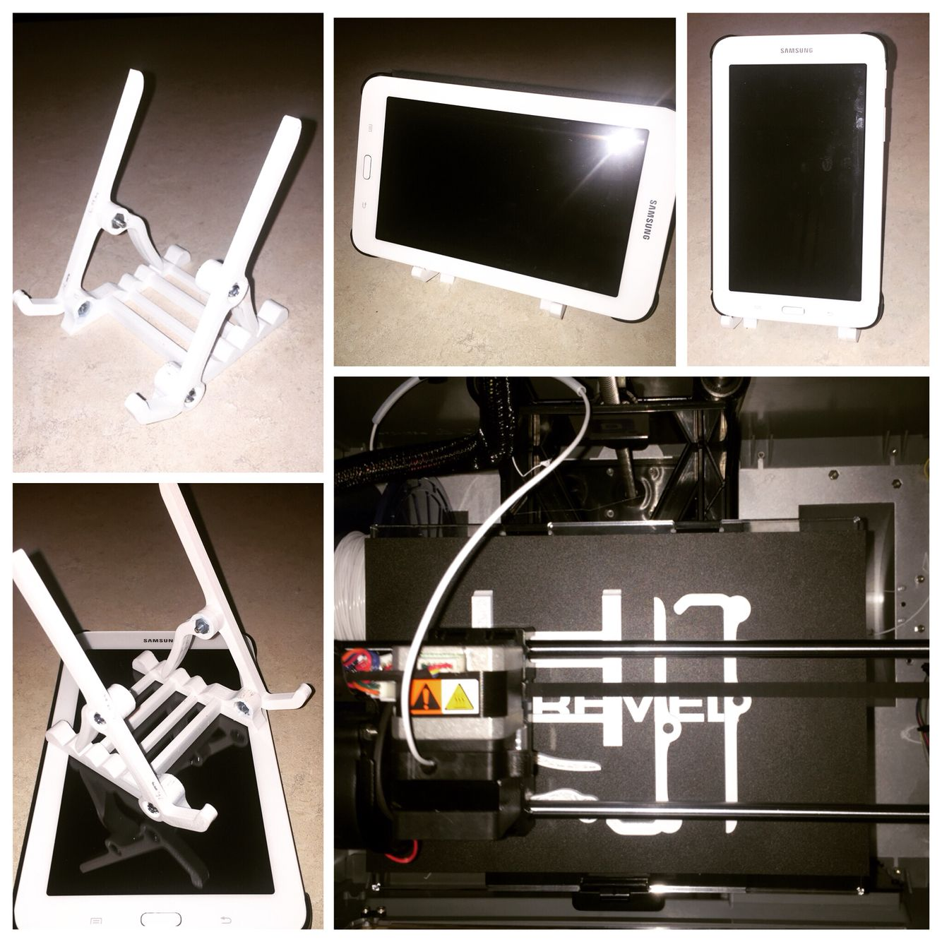 3d Printing, Tablet Stand, Decor
