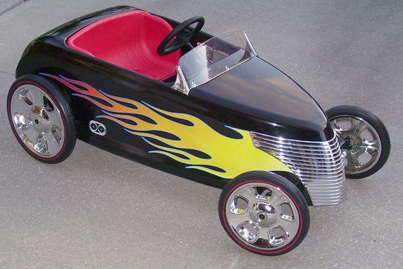 roadster hot rod pedal car