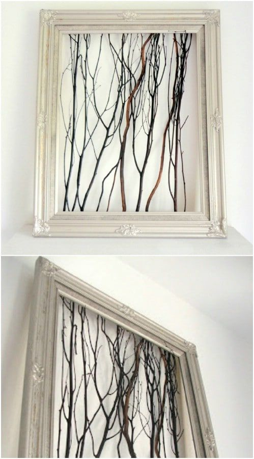 Photo of 25 cheap and easy DIY home and garden projects with sticks and branches