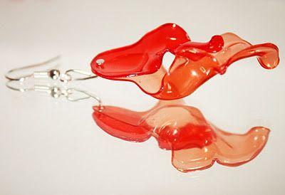 Plasticando: Orecchini / Brincos