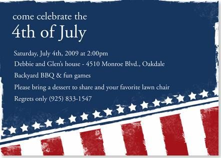 4th of july party invitation - google search | 4th of july, Party invitations